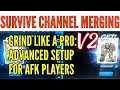 RO仙境傳說: Advanced Setup for meelee grinders (survive channel merging)