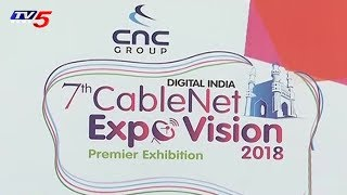 7th Cablenet Expo Vision 2018 at Hitech City, Hyderabad