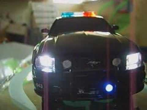 Dub City Barricade 2 Transformer custom R/C cop car