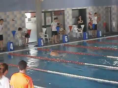 Alhendin natacion -Oscar Lopez Ruiz- Otra vez en la piscina de Las Gabias