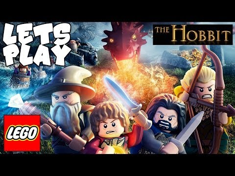 Lets Play LEGO Hobbit Video Game - Walkthrough w/ Great Goblin King Boss Battle (PC Commentary) Demo