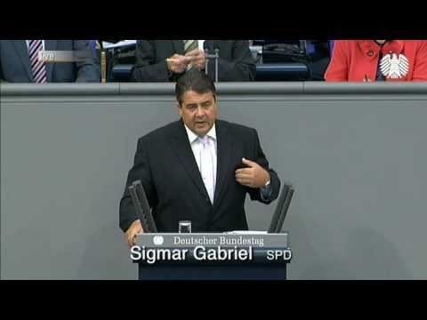 Rede des SPD-Parteivorsitzenden Sigmar Gabriel zum Bundeshaushalt 2011