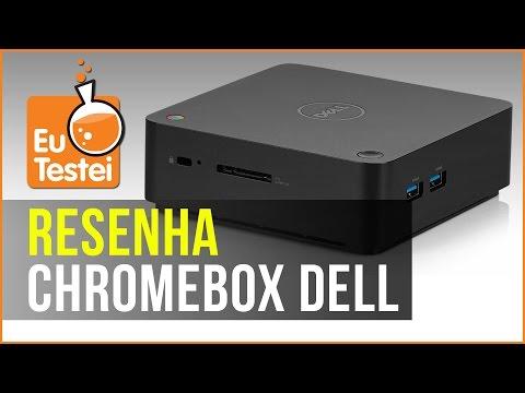 Uma pequena caixinha e um computador dentro, esse é o Chromebox da Dell - Resenha EuTestei