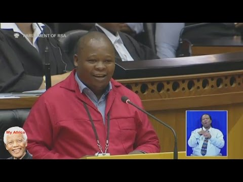 EFF - We Cant Feed A Man With 5 Wives And 15 Children And Gupta Friends