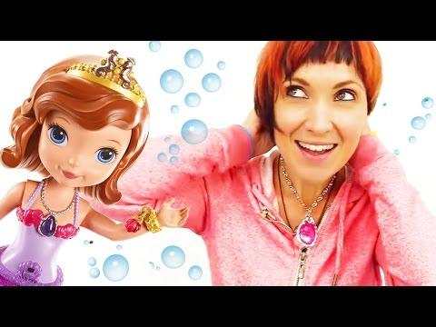 Видео для детей. Русалка София Прекрасная и Маша Капуки