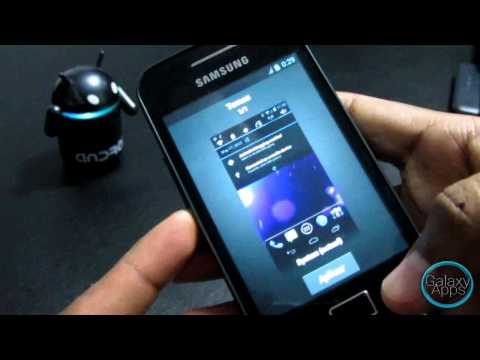 Rom Review: CM9 RC2 Ice Cream Sandwich para Galaxy Ace (Español Mx)