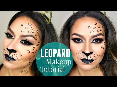 Sexy Leopard/Cheetah Makeup Tutorial | Halloween Makeup Tutorial