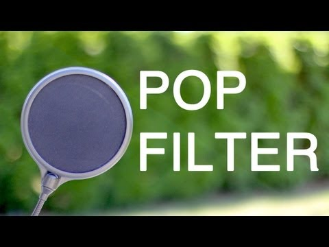 Tech Tips: Pop Filters
