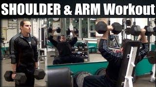 Download Bodybuilding SHOULDER & ARM Workout Video 3Gp Mp4