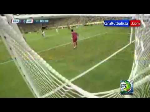 Fantastic Goal By Neymar Against Japan In Confederations Cup 2013