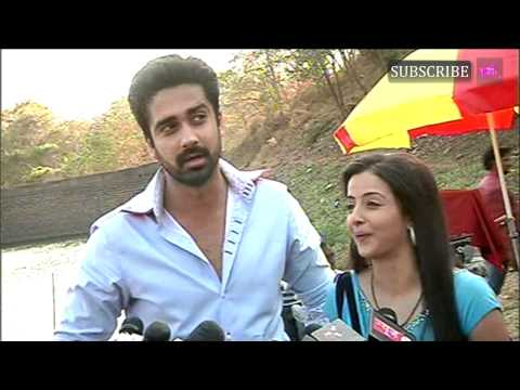 On location of serial Iss Pyaar Ko Kya Naam Doon 26th March |...