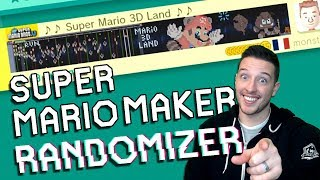 There is a Good Chance These Levels Will be Hot Garbage... | Super Mario Maker Randomizer (Ep. 1)