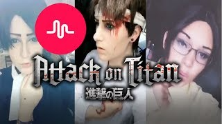 Attack On Titan Musical.ly Compilation