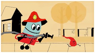 """Firefighter,"" Songs about Professions by StoryBots"