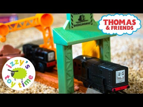 Thomas and Friends Trackmaster Emergency Searchlight with Diesel | Fun Toy Thomas Trains for Kids