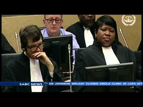 The LRA Commander has appeared before the ICC