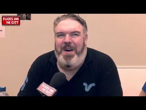 Game of Thrones Season 4 Hodor Interview - Kristian Nairn