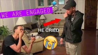 We Got Engaged! He Proposed... 💍😭
