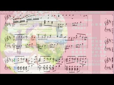 Fhana-  Uchouten Kazoku ED- Que Sera Sera- Piano Cover With Sheet