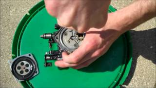 sea doo carb cleaning