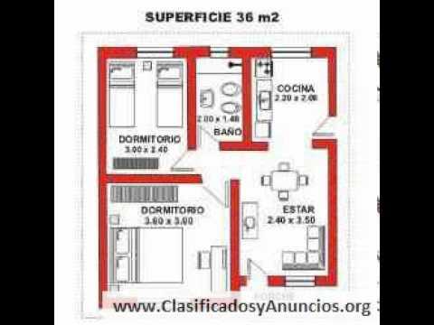 36 m2 casas prefabricadas premoldeadas cabanas m youtube On diseno de apartamentos de 36 metros cuadrados