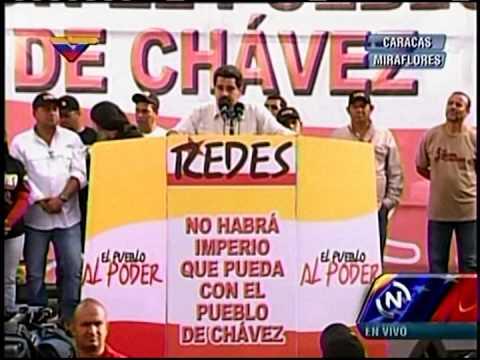 Maduro responsabiliza a Leopoldo López por sanciones de EEUU