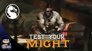 CEZALI Mortal Kombat X - TEST YOUR MIGHT !!!