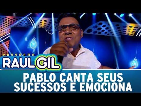 Pablo canta seus sucessos da 'Sofrência' e emociona plateia | Programa Raul Gil (29/04/17)