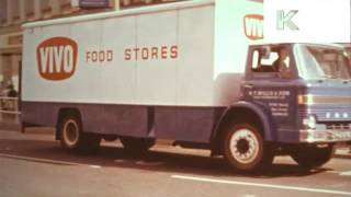 1960s UK Lorry, Truck, Haulage, Roads