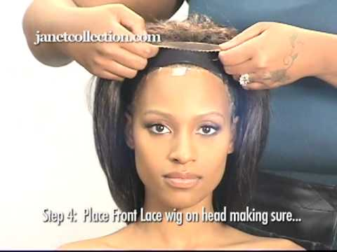 Youtube How To Put On A Lace Front Wig 38