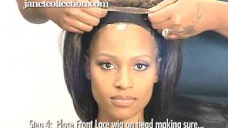 Youtube How To Put On A Lace Front Wig 55