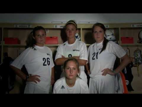 2013 Wingate Women's Soccer - We are #WUSOC