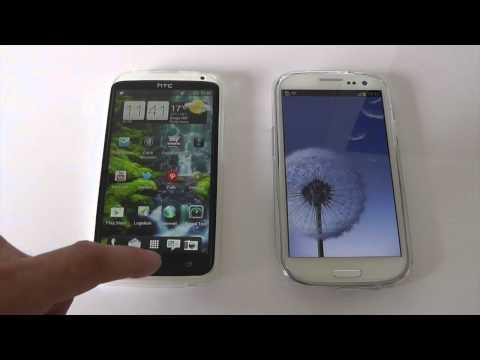 HTC One X VS Galaxy S3 Benchmark Performance Comparison