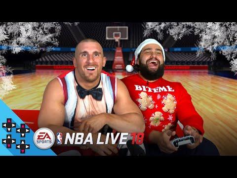 NBA LIVE 18: RUSEV vs. MOJO RAWLEY (feat. CHARLOTTE & NATALYA) - Gamer Gauntlet