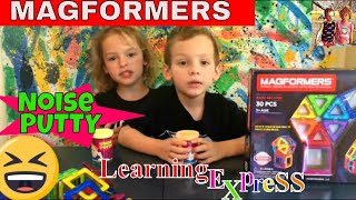 Magformers, FART Putty Learning Express