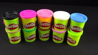 Puppy Dog Play Doh Surprise Eggs Toys Cachorro Perro Huevos sorpresa
