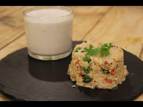 Oats Upma And Fruit And Nut Smoothie | Majha Kitchen | Sanjeev Kapoor Khazana