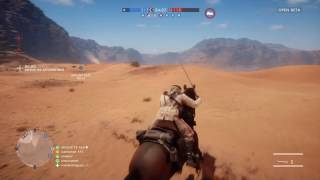 Battlefield 1 Open Beta.CAVALRY CHARGE