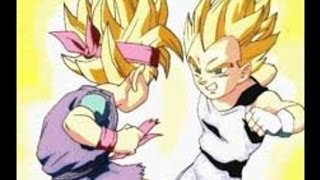 Dragon Ball Gt Goku Jr And Vegeta Jr GREEK FAN MADE