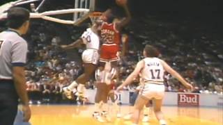 Michael Jordan's Best Dunks by Fan Voting