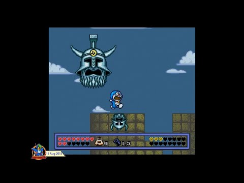 Doraemon 3: Jewel of Time (1994, SNES) - 4 of 5: Atlantis [720p60] thumbnail
