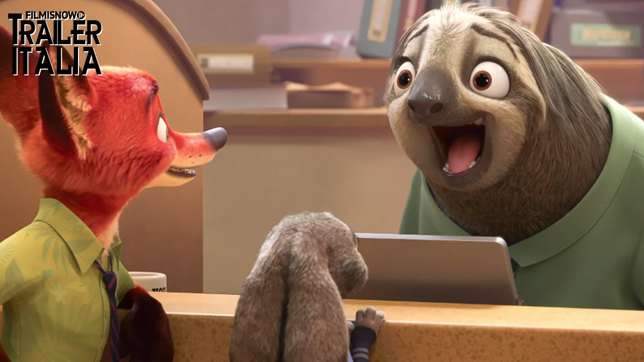 ZOOTROPOLIS - Conosci Flash, il bradipo più veloce della motorizzazione!