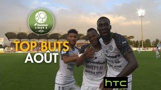 Top Buts Domino's Ligue 2 - Août 2016-17