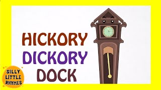 🐀 Hickory Dickory Dock | English Nursery Rhymes | Songs For Kids 🐀