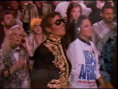 We Are The World - Michael Jackson Tina Turner Stevie Wonder...