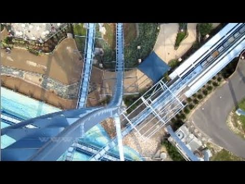 Griffon Front Row Seat on-ride HD POV Busch Gardens Williamsburg
