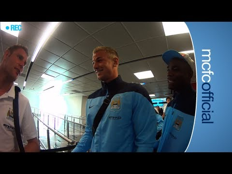 FUNNY Joleon Lescott Diary - Bets with Guidetti & Micah Richards