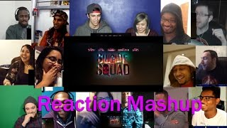 Suicide Squad - Official Trailer 1 REACTION MASHUP