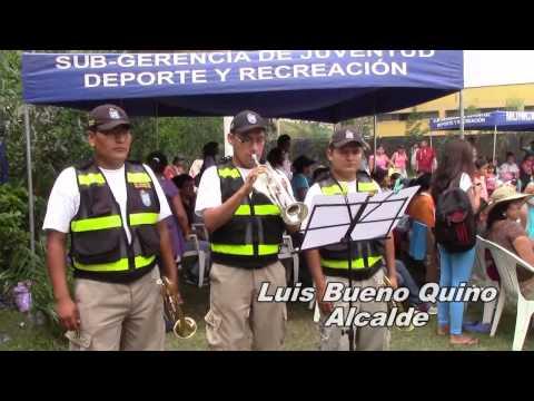 BANDA DE MUSICA DE SERENAZGO EN LA CLAUSURA DEPORTIVA 2014