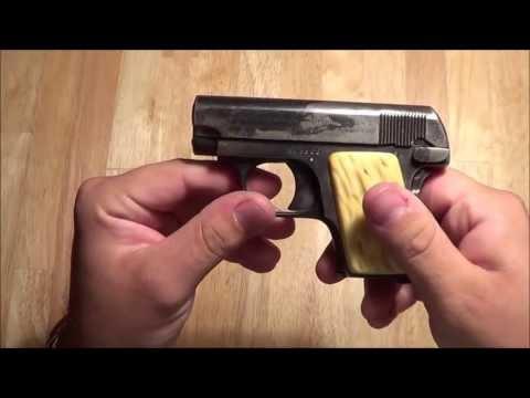colt 1908 .25acp vest pocket pistol